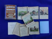 Collectible Vintage Cards game Counties of England,by Jaques, First series